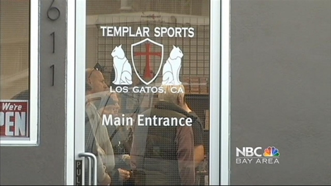 The owner of Templar Sports, Robert Chang, said he found a death threat at his home in San Jose Tuesday night. Jean Elle reports.