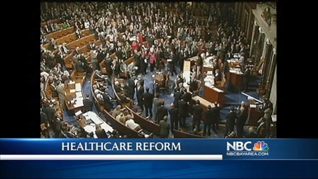 NBC Bay Area's Political Analyst Larry Gerstin, Ph.D, discusses recent poll results regarding Obamacare.