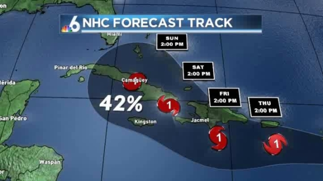 Chief Meteorologist John Morales discusses Tropical Storm Isaac.