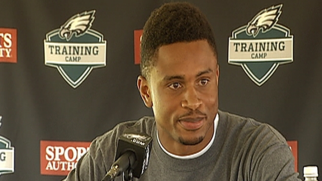 Asomugha Surprised to Be an Eagle