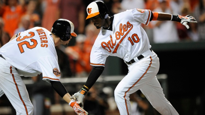Orioles Hit 6 HRs in 10-6 Win Over Yankees