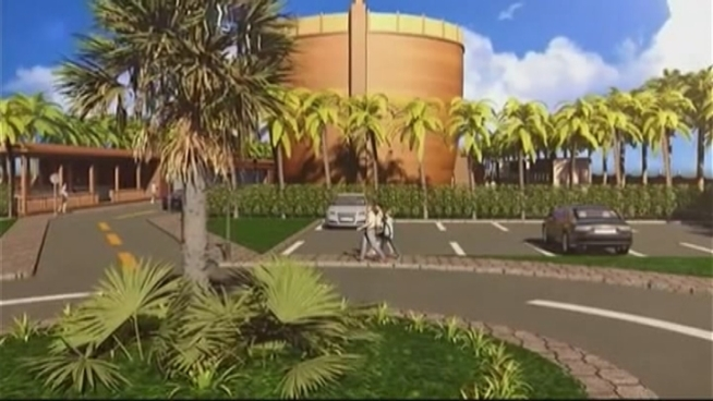The Hidden Ark group began building a 500-foot wooden Noah's on the outskirts of Hialeah that will be both a zoo and a way to raise awareness about the current environmental changes. NBC 6's Ari Odzer spoke to Carolina Peralta from hiddenark.com group.