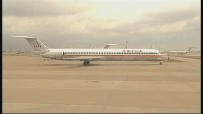 American Airlines flight 443 was grounded at Kennedy Airport Monday after seats got loose from the tracking, the second such incident on an American Airlines plane since Saturday, officials say. Ida Siegal reports.