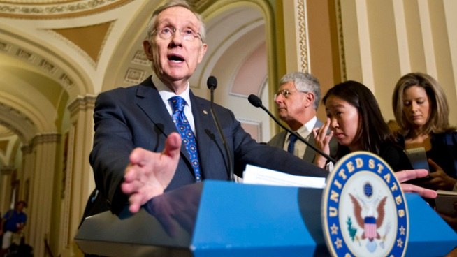 Sen. Harry Reid Injured in Las Vegas Car Crash