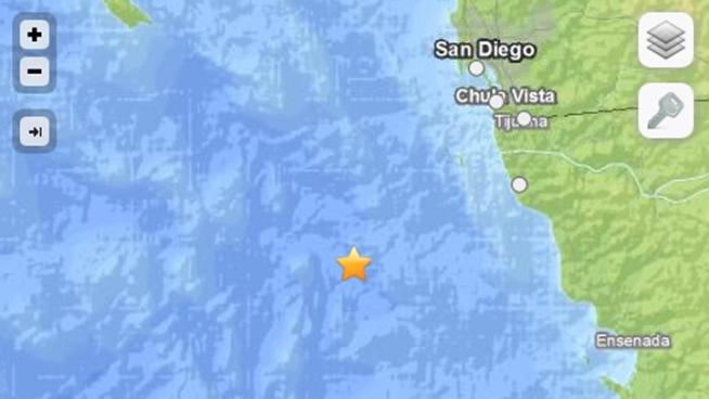 A 4.3-magnitude earthquake off Baja rattled parts of San Diego Friday night. NBC 7's Nicole Gonzales speaks with locals who felt the small jolt.