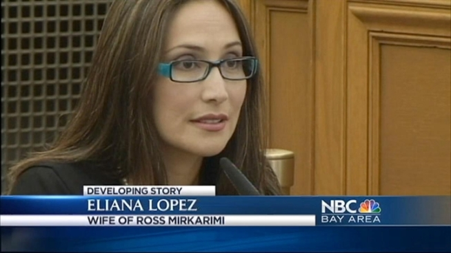 Eliana Lopez, wife of suspended Sheriff Ross Mirkarimi, took the stand Wednesday, and returned Thursday.
