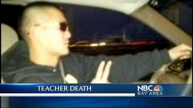 Police say James Izumizaki, the Albany teacher who was arrested last Thursday on molestation charges, was found dead. Alameda County Sheriff's Department is investigating the death as a possible suicide. Jean Elle reports.