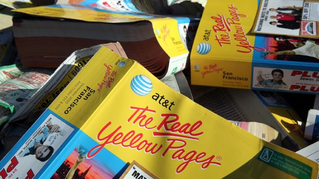 Yellow Pages Deliveries Will Continue