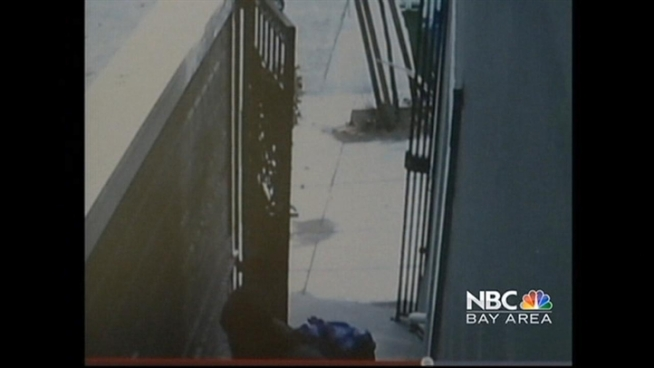 A frusrated woman in San Francisco sprayed a
