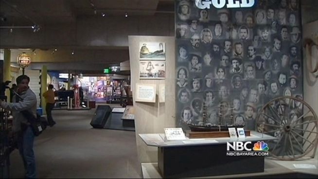 The Oakland Museum announced Tuesday it is offering a $12,000 reward for information leading to the return of a priceless gold rush era box stolen this week. Christie Smith reports.