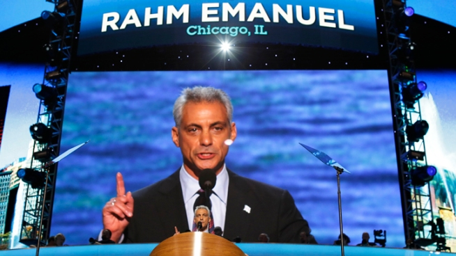 A national campaign co-chair, Chicago's mayor has moved into a fundraising role. Carol Marin reports.