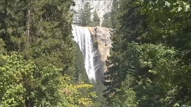 Two young boys were swept away during a visit to Yosemite National Park.