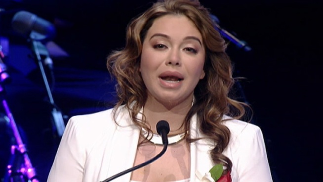 "Chiquis"" Marin talks about the words her mother, singer Jenni Rivera"