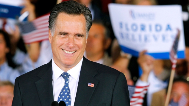 Former California Governor Endorses Mitt Romney