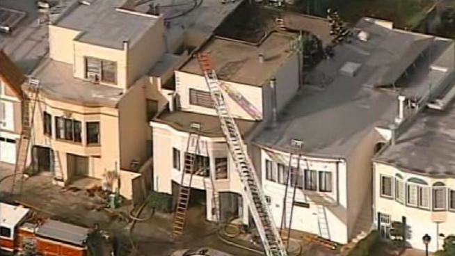 """House Full of Marijuana"" Catches Fire in SF"