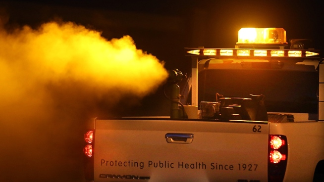 Fogging for West Nile Virus Begins