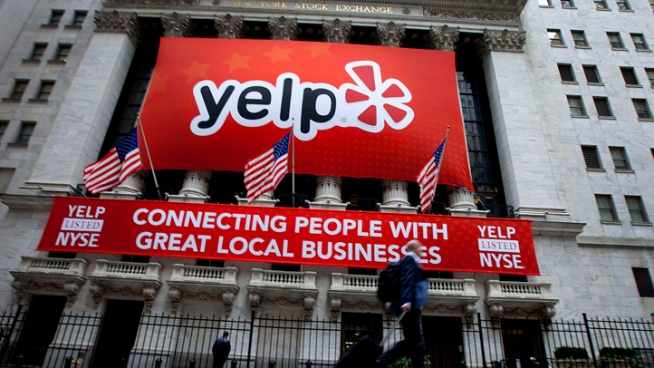 Yelp Pals Around With Apple; Stock Rises