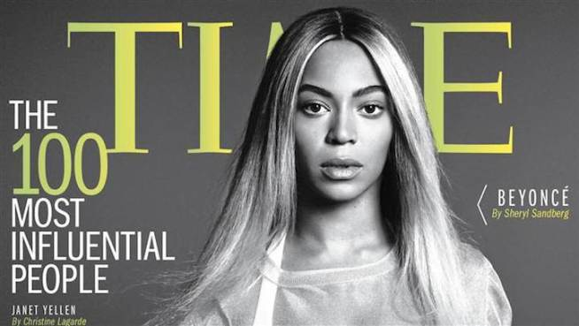 "Beyonce Covers ""Time 100"" Issue"
