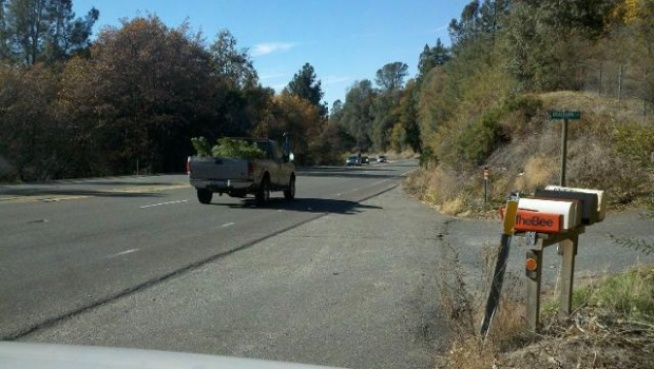 Car Accident Nov  Hwy  In Northern California