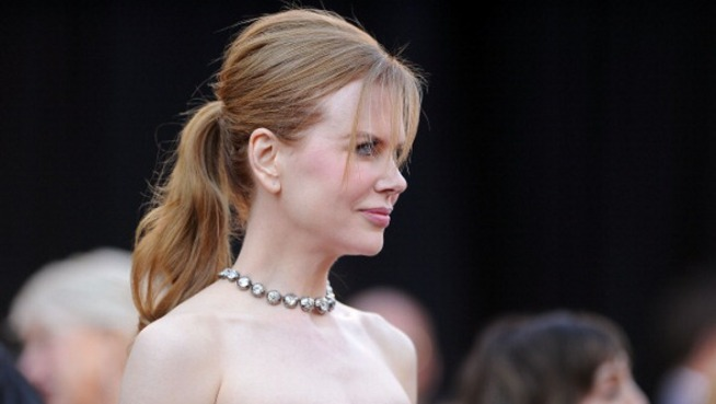 Nicole Kidman Spotted Filming in SF