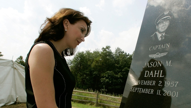 Widow of Flight 93 Pilot Jason Dahl Dies