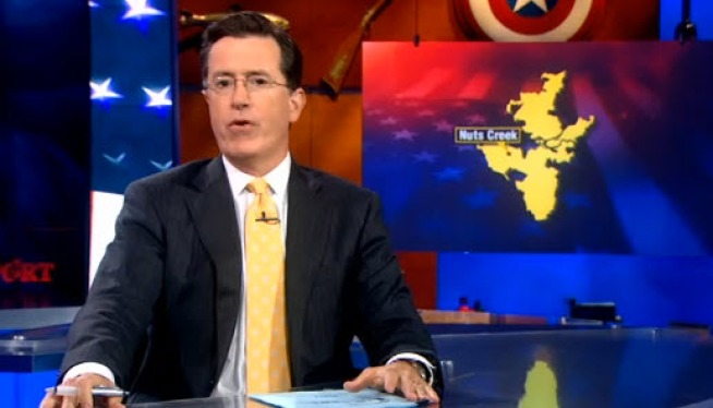 The Fightin' 10th! Colbert vs Garamendi: VIDEO