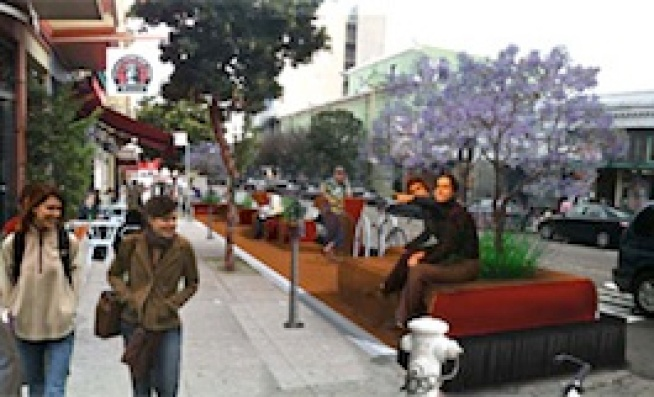 San Francisco Trading More Parking for Parklets