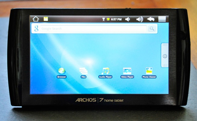 Archos 7 Home Tablet Shows Why Touchscreen Quality Is Everything