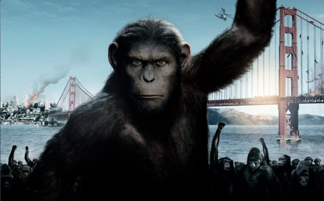 'Planet of the Apes' Monkeys Around in SF