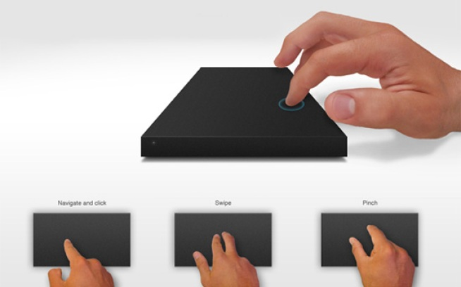 LaCie Concept Turns a Hard Drive Into a Touchpad, Because Why Not