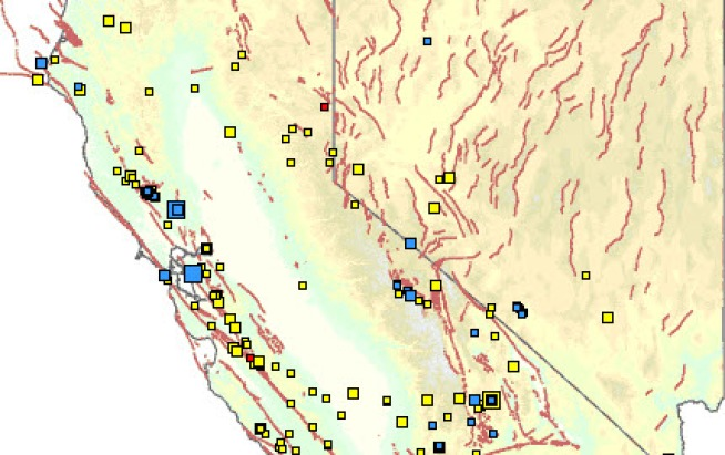 Small Earthquakes in Wine Country