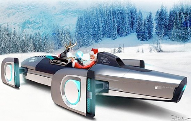 Santa's Sleigh Gets a Major Upgrade