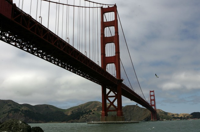 Pedestrians, Cyclists to Share Golden Gate Bridge Crossing