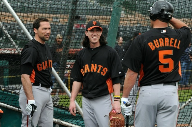 Photo Archive: 2010 Giants Take a Curtain Call
