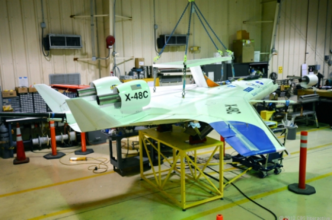 NASA Readies Blended Wing Craft for First Flight