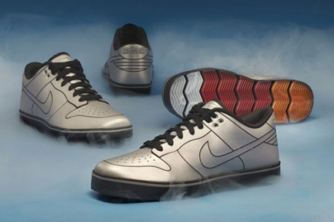 Nike's New Back to the Future Shoes Are DeLorean-Inspired