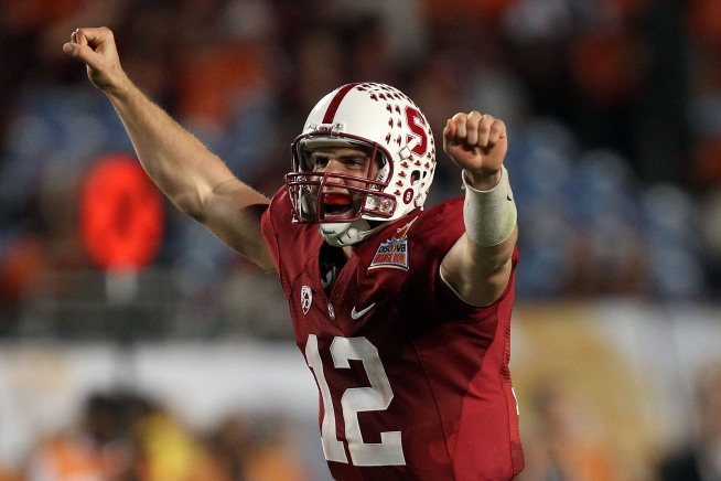 Luck Sticking with Stanford