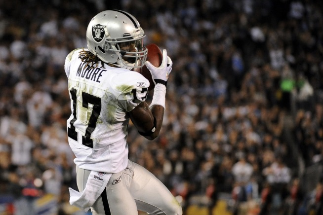 Raiders Should Have Moore Back for Lions