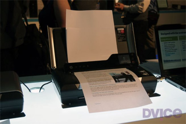 HP Takes a Stab at a Portable All-in-One Printer