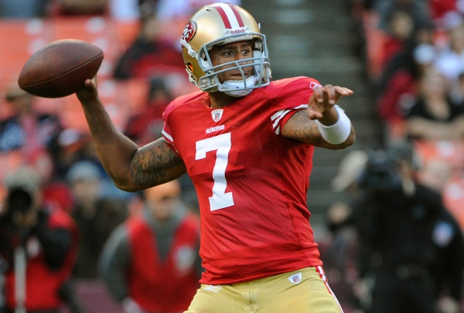 Kaepernick, Johnson Will Battle for Job as 49ers' Backup Quarterback