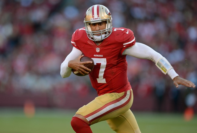 Alex Smith Won't Start for 49ers vs. Bears