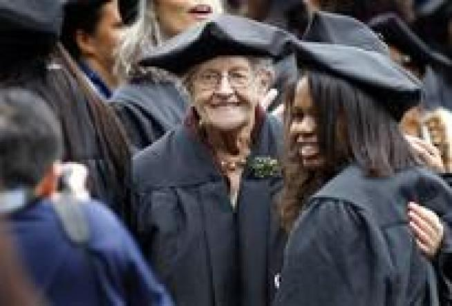 Among Today's College Grads is a 94 Year Old