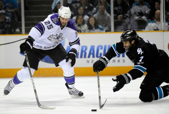 Sharks Slip as L.A. Ties Series