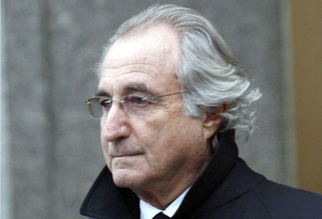 Madoff, in a Devil Suit