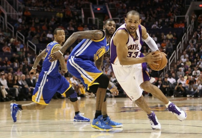Warriors Scorched by Suns