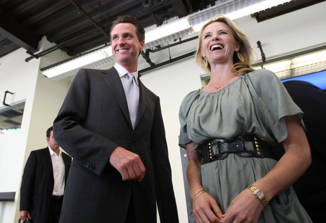 Newsom Saves Face with Facebook