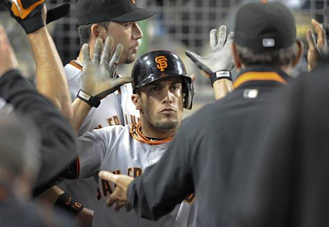 Giants Fight Back for Wild Win in LA
