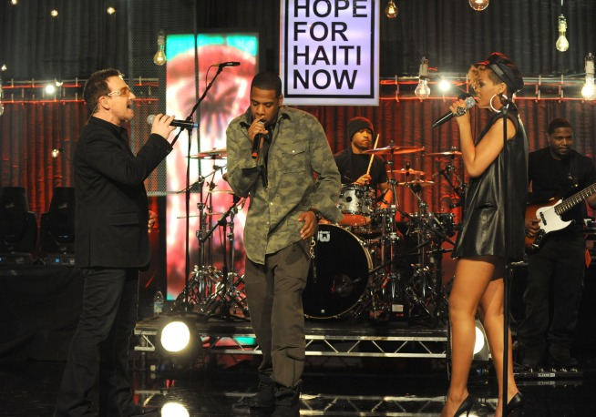"""Hope for Haiti Now"" Telethon Tops Billboard Chart"