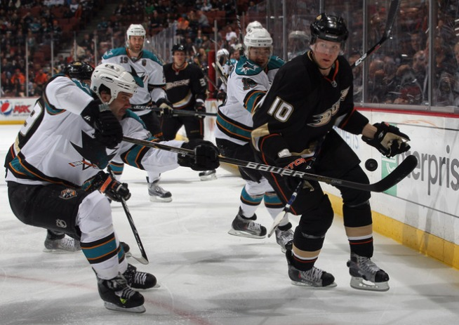 Sharks Dropped by Ducks