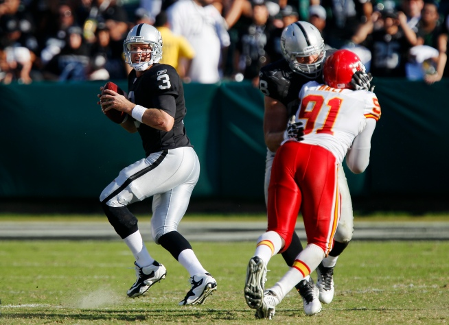 Raiders' Palmer Vows to Improve Quickly